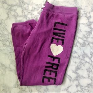 Mossimo Purple Sweatpants Size XL